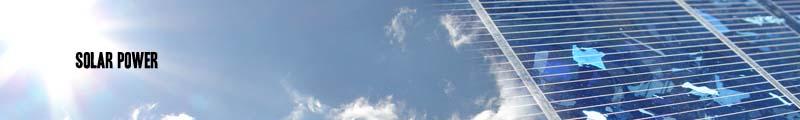 Sonnenenergieüberschriftgraphik